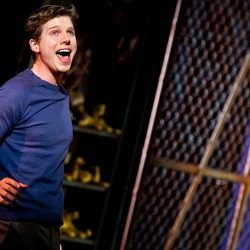 Stark Sands in Kinky Boots