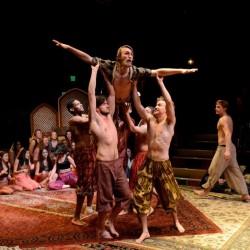 A scene from The Arabian Nights