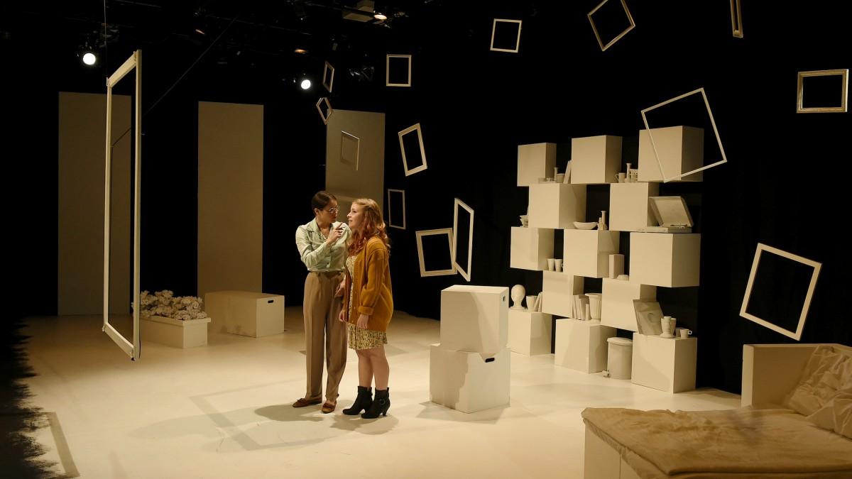 Scene from Brokers at Massman Theatre
