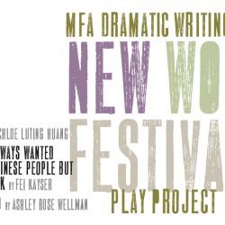 New Works Festival Year 2 art