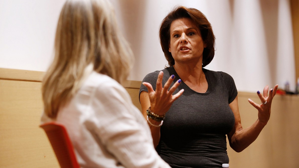 Alexandra Billings speaks at USC.