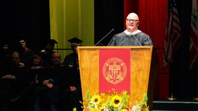 Michael Chiklis at Commencement 2016