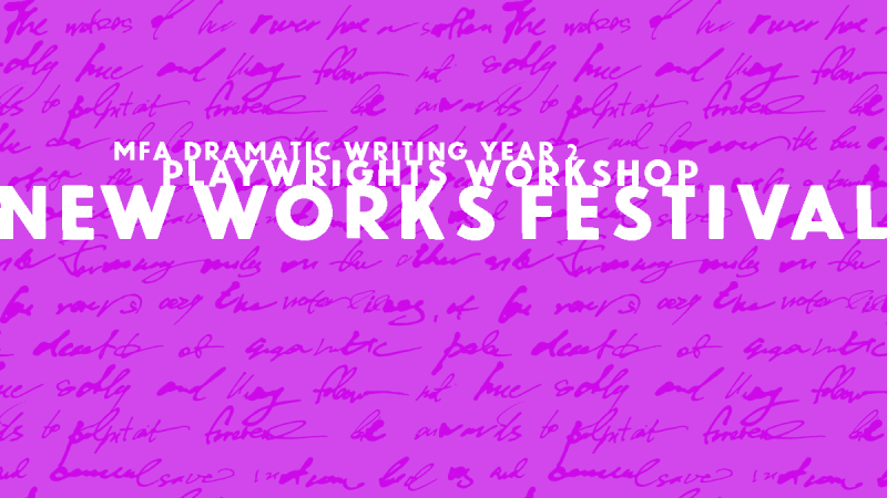 New Works Festival Year 2 artwork