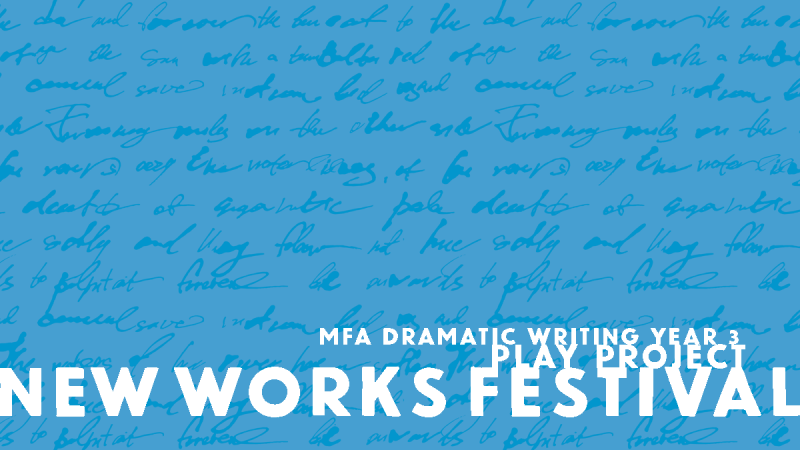 New Works Festival Year 3 artwork