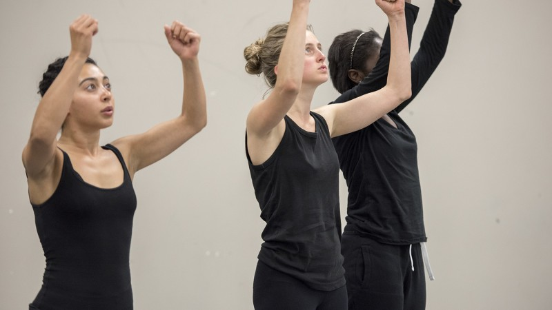 MFA actors in a movement class