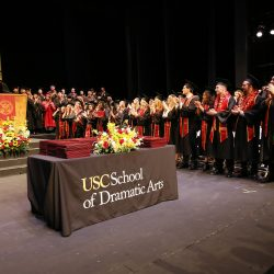 USC School of Dramatic Arts Commencement Ceremony