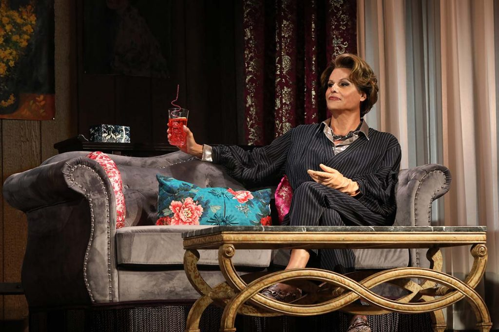 Alexandra Billings in The Nap on Broadway (Photo by Joan Marcus)