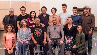 Cast and director for Valley of the Heart