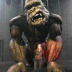 Alice Pollitt and King Kong
