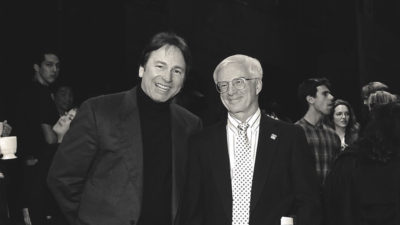 Bob Scales and John Ritter