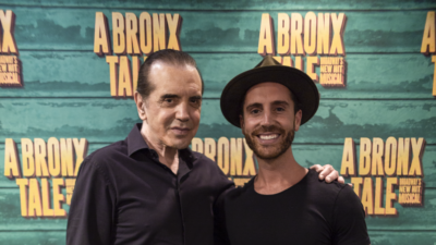 Chazz Palminteri and Nick Fradiani