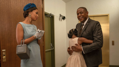 Forest Whitaker and Demi Singleton in Godfather of Harlem
