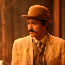 Man with hat and mustache