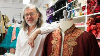 Howard Schmitt in the SDA Costume Shop