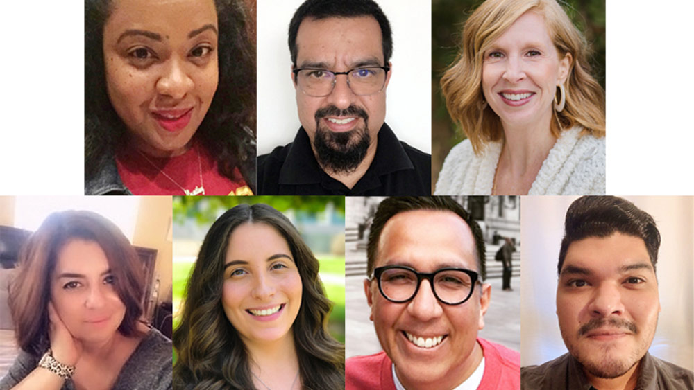 Seven members of the SDA Admissions and Student Services staff
