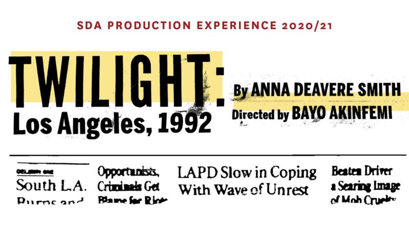 Twilight: Los Angeles, 1992 art