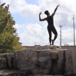 Screenshot of student dance film