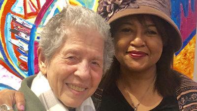 Joan Beber MFA '00 and Velina Hasu Houston