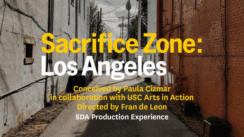 Sacrifice Zone: Los Angeles art