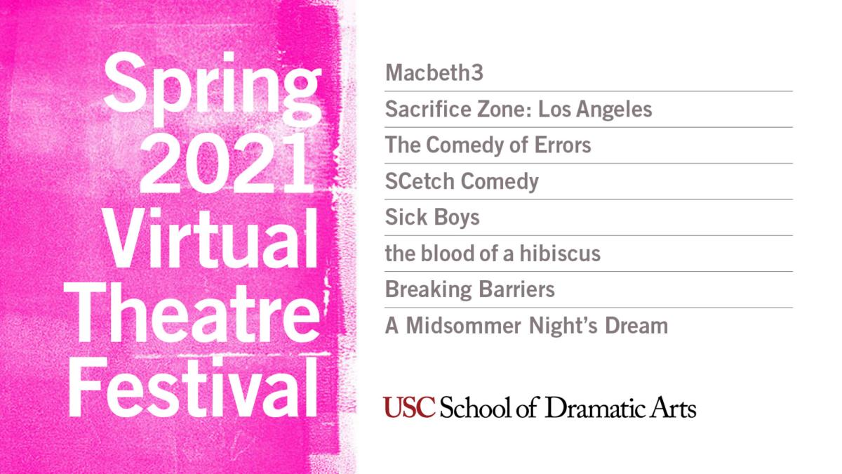 Spring 2021 Virtual Theatre Festival