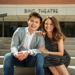 Ziming Jim Liu and Adrienne Visnic.