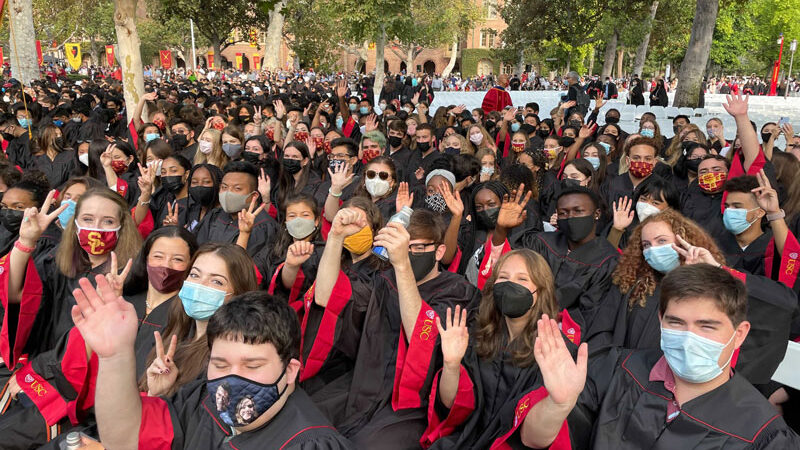 SDA students during the New Student Convocation 2021