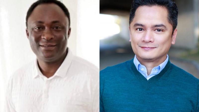 Bayo Akinfemi and Rodney To