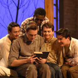Image of student actors in a play