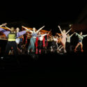 BFA Musical Theatre students performing the song